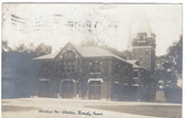 Beverly, Massachusetts Real Photo Postcard:  Central Fire Station