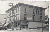 Bucksport, Maine Real Photo Postcard:  Bucksport Drug Store