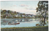 Arlington Heights, Massachusetts Postcard:  Spy Pond & Kensington Park