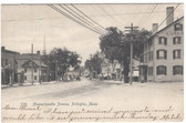 Arlington, Massachusetts Postcard:  Massachusetts Avenue