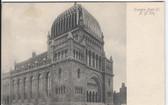 New York City Postcard:  Temple Beth-El Synagogue
