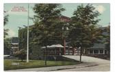 Brockton, Massachusetts Vintage Postcard:  East Side Fire Station
