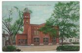 Campello, Massachusetts Postcard:  Fire Station No. 2