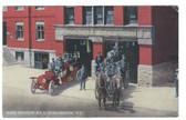 Burlington, Vermont Postcard:  Fire Station No. 1