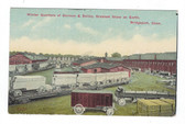 Bridgeport, Connecticut Postcard:  Winter Quarters of Barnum & Bailey Circus