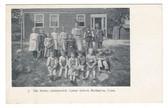 Burlington, Connecticut Postcard:  The Rising Generation, Center School