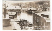 Montpelier, Vermont Real Photo Postcard:  1927 Flood