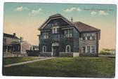 Wethersfield, Connecticut Postcard:  Grange Hall