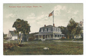 Atlantic, Maine Postcard:  Ponceane House and Cottages