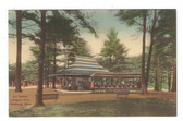 Fitchburg, Massachusetts Postcard:  Trolley Car Station, Whalom Park
