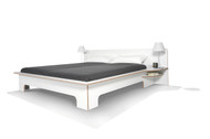 Plane Bed White