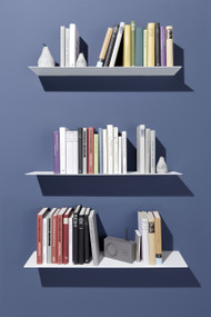 Lyn Wall Shelf Large White