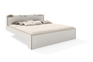 Nook  Double Bed White