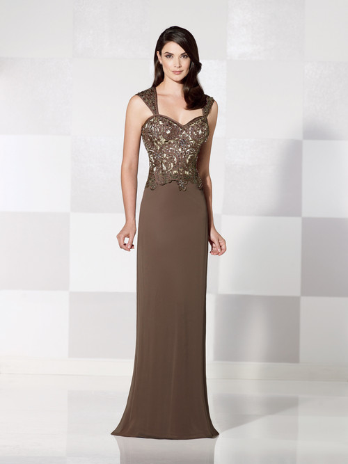 straight cut gown
