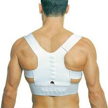 Magnetic Posture Back Shoulder Corrector Support Brace Belt
