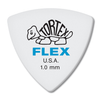 Dunlop Tortex ® Flex ™ Triangle.  1.0mm. White.