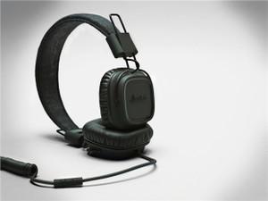 Marshall Major: Headphones, Pitch Black