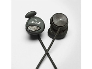 Marshall Minor: Headphones, Pitch Black, Sold Out
