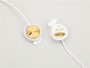 Marshall Minor: Headphones, White,    Sold Out