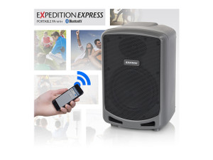 Samson  XP360B Portable PA with Bluetooth connection.