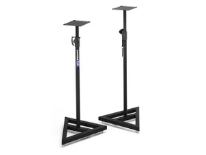 Samson  MS200: Monitor Stand W/Plate top Pair