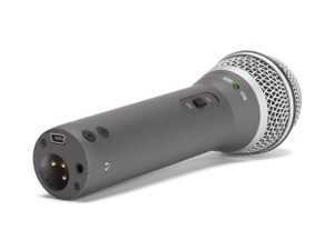 Samson  Q2U: USB and XLR Handheld Microphone