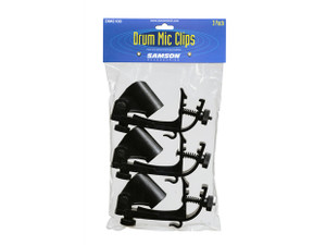 Samson  DMC100: Drum rim mount Mic Clip 3 pack