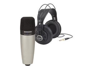 Samson  SR850: StudioReference H/phones + C01 Mic pack