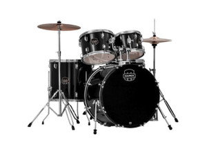 Mapex  Prodigy Black 20 10 12 14F w/ Cymbals & Throne