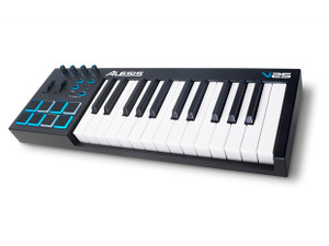 V25: 25-Key USB Keyboard & Pad Controller