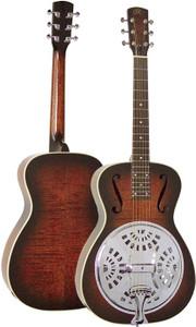 "AER7FVS Essex ""00"" Resonator Round Neck Guitar"