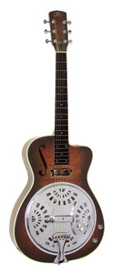 """AER7CEFR Essex """"00"""" Resonator Electric/Acoustic Round Neck with Pickup"""