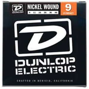 BOX OF 12 - Dunlop - Electric Guitar Strings - 9/46 (light/heavy)