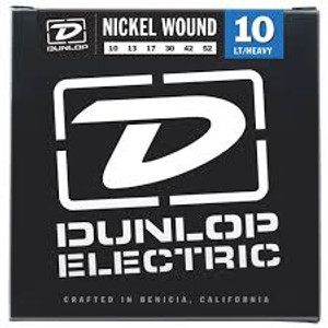 BOX OF 12 - Dunlop - Electric Guitar Strings - 10/52 (light/heavy)