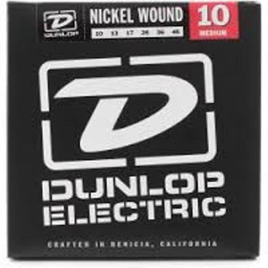 BOX OF 12 - Dunlop - Electric Guitar Strings - 10/46 (medium)