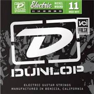 BOX OF 12 - Dunlop - Electric Guitar Strings - 11/50 (medium/heavy)