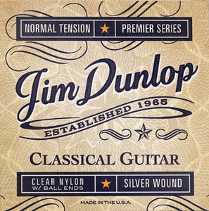 BOX OF 12 - DUNLOP – Classical Guitar Strings – Clear Nylon