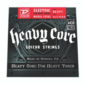 BOX OF 6  - DUNLOP – Electric Heavy Core Guitar Strings – 10-48