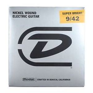 Dunlop – Electric Guitar Strings – 9/42 (Super Bright)