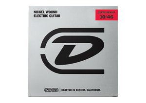 Dunlop – Electric Guitar Strings – 10/46  (Super Bright)