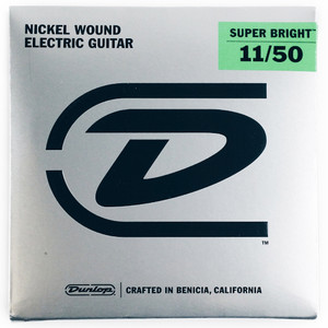 Dunlop – Electric Guitar Strings – 11/50  (Super Bright)