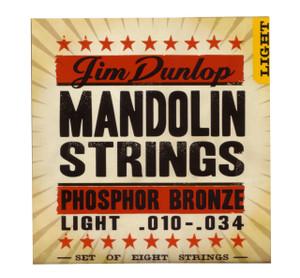 Dunlop – Mandolin Strings – .010 - .034  (Light)