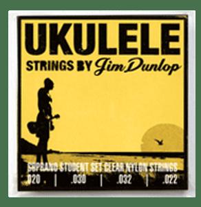 Dunlop – Ukulele Strings – .020   .030   .032   .022 (Light)