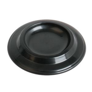 AMS - Plastic piano castor cup. Black