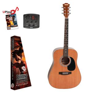 REDDING - Dreadnought Cedar top  electric/acoustic Guitar
