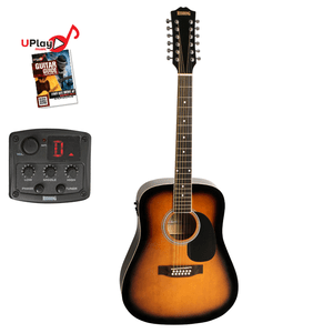 REDDING - 12 String Dreadnought acoustic/Elevtric Guitar