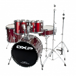 """DXP - 20"""" fusion drum kit package with DXP cymbals & throne"""