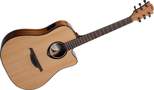 """LAG - Tramontane Stage """"66"""" Series T66DCE Left Handed Acoustic Electric guitar"""