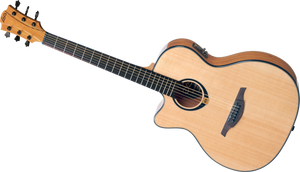 """LAG - Tramontane """"80"""" Series T80ACE Left Handed Acoustic Electric guitar"""