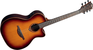 "LAG - Tramontane ""100"" Series T100ACEBRS Acoustic Electric guitar"